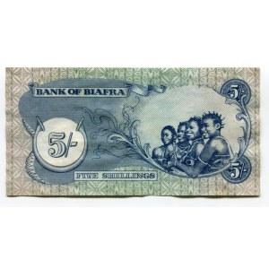Biafra 5 Shillings 1968 - 1969