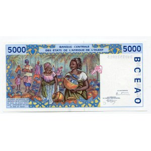 Burkina Faso 5000 Francs 1994