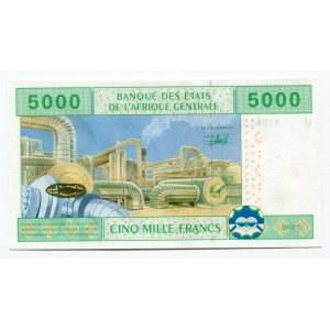 Cameroon 5000 Francs 2002
