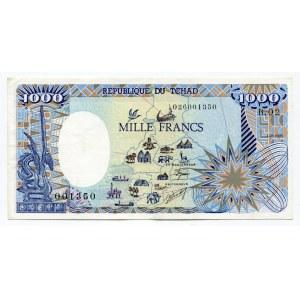 Chad 1000 Francs 1985