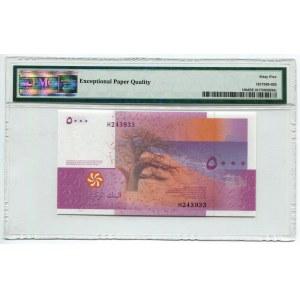 Comoros 5000 Francs 2006 PMG 65 EPQ