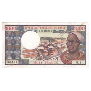 Congo 1000 Francs 1974