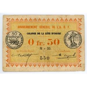 Dahomey 0.50 Francs 1917 (ND)