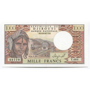 Djibouti 1000 Francs 1991 (ND)