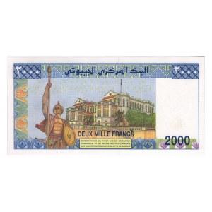 Djibouti 2000 Francs 2008