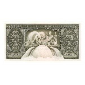 Egypt 5 Pounds 1952