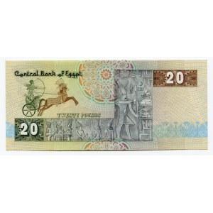 Egypt 20 Pounds 1978 - 1992