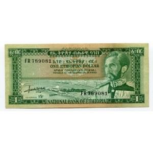 Ethiopia 1 Dollar 1966