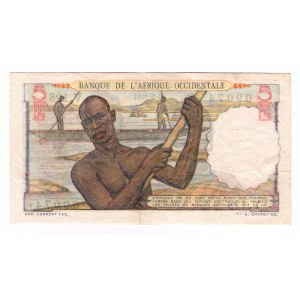 French West Africa 5 Francs 1949