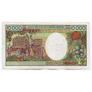 Gabon 10000 Francs 1983 - 1991