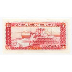Gambia 5 Dalasis 1987 - 1990