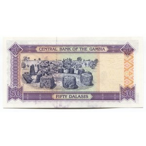 Gambia 50 Dalasis 1996 (ND)