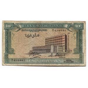 Ghana 10 Shillings 1962