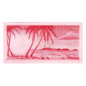 Ghana 50 Cedis 1965