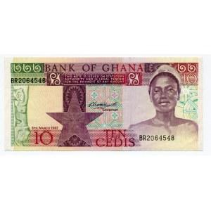 Ghana 10 Cedis 1982