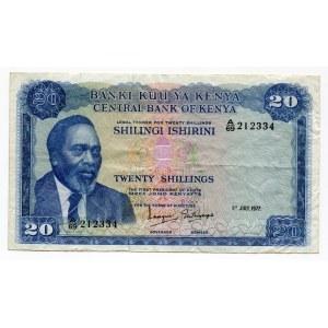 Kenya 20 Shillings 1972