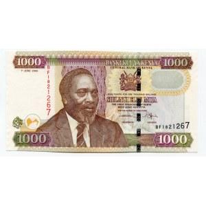 Kenya 1000 Shillings 2005