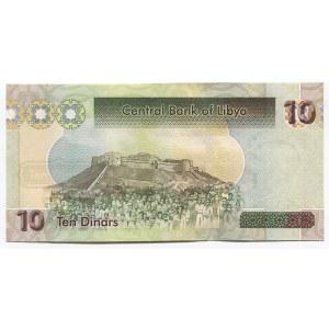 Libya 10 Dinars 2011 (ND)