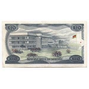 Malawi 10 Kwacha 1988