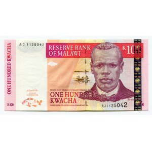 Malawi 100 Kwacha 2001