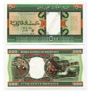 Mauritania 500 Ouguiya 1983 Proof