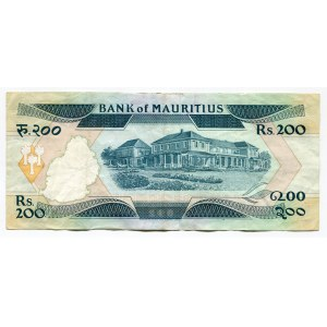 Mauritius 200 Rupees 1985 (ND)