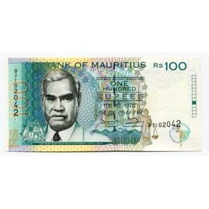 Mauritius 100 Rupees 1998