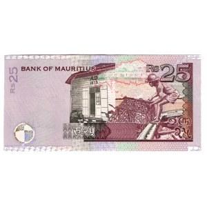 Mauritius 25 Rupees 1999