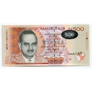 Mauritius 500 Rupees 2007