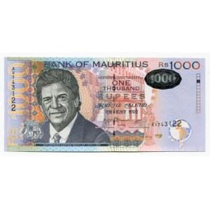 Mauritius 1000 Rupees 2007