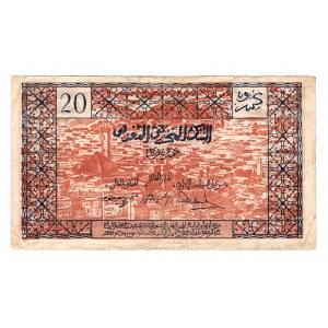 Morocco 20 Francs 1943