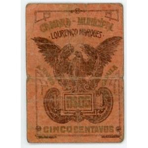 Mozambique 5 Centavos 1910 - 1920 (ND)