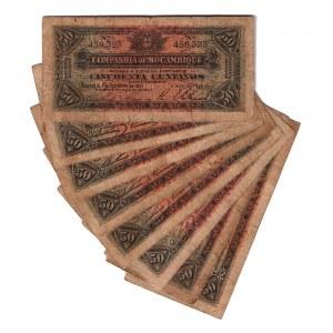 Mozambique 50 Centavos 1931 8 Pieces