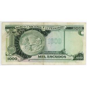 Mozambique 1000 Escudos 1972