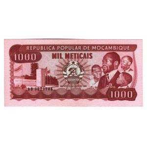 Mozambique 1000 Meticais 1986