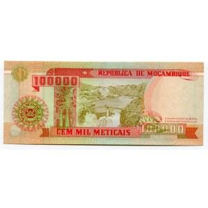 Mozambique 100000 Meticais 1993