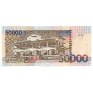 Saint Thomas & Prince 50000 Dobras 1996