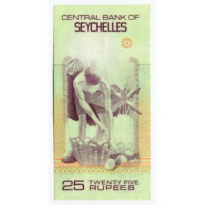 Seychelles 25 Rupees 1983