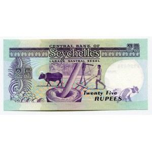 Seychelles 25 Rupees 1989