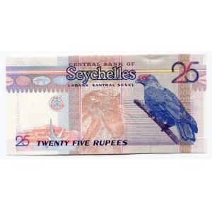 Seychelles 25 Rupees 1998