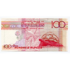 Seychelles 100 Rupees 2001