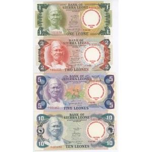Sierra Leone 1 - 2 - 5 - 10 Leones 1980 Commemorative Issue