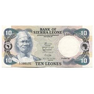 Sierra Leone 10 Leones 1984