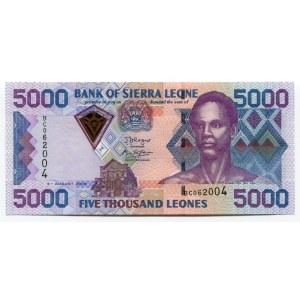 Sierra Leone 5000 Leones 2006