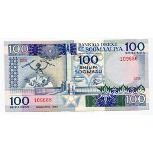 Somalia 100 Shillings 1983