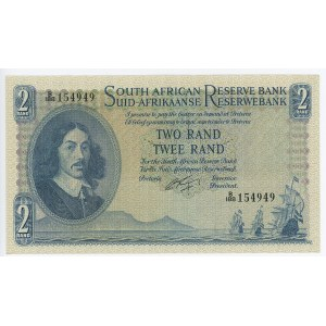 South Africa 2 Rand 1962 - 1965 (ND)