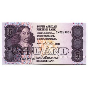 South Africa 5 Rand 1990 - 1994 (ND) Replacement Rare