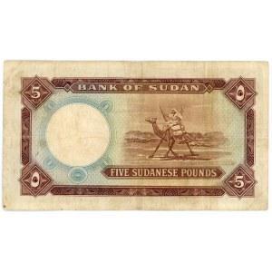 Sudan 5 Pounds 1965