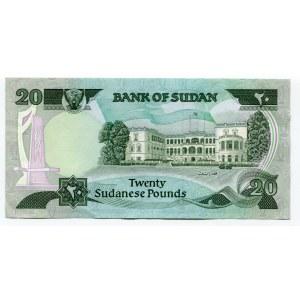 Sudan 20 Pounds 1983