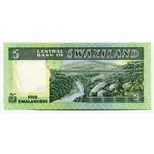 Swaziland 5 Emalangeni 1982